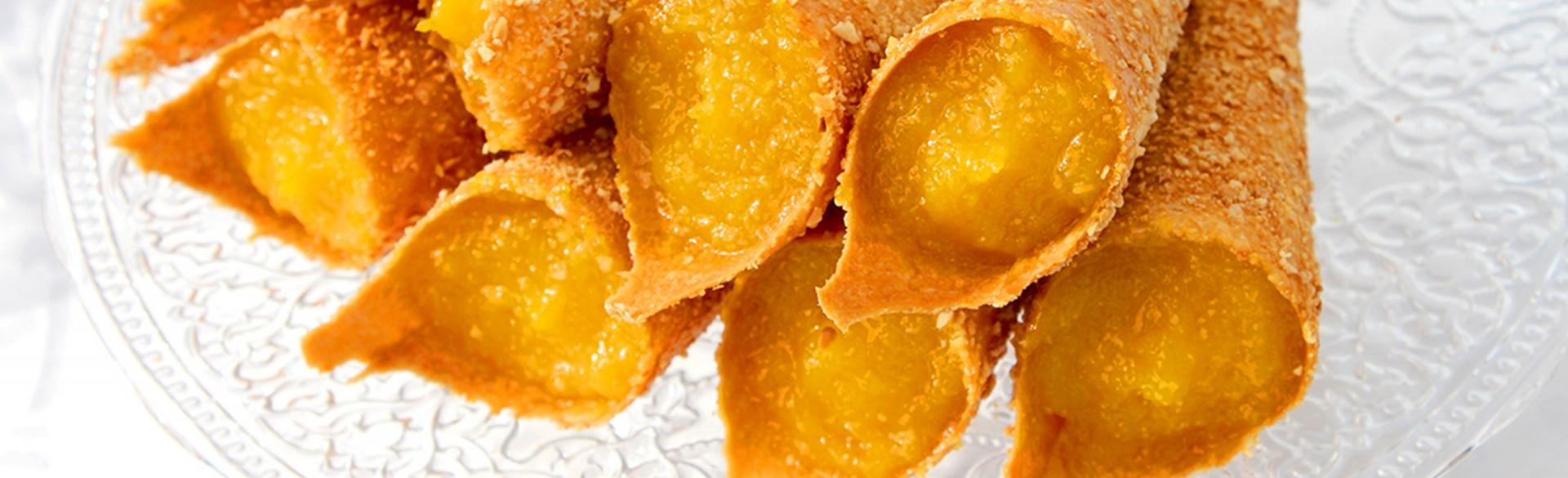 Cartuchinhos de Cernache (almond pastries)