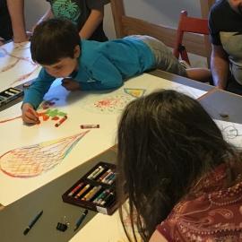 Workshop de Desenho para Pais e Filhos