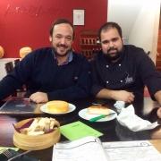 Chef Filipe Aires e Chef Rodrigo Castelo