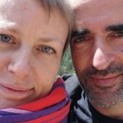 Bodil Eide e Paulo Borges