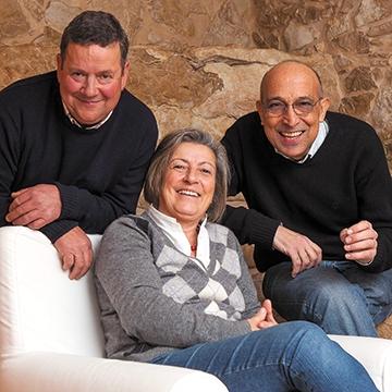 Serafim, Maria dos Prazeres e Vitor Freitas