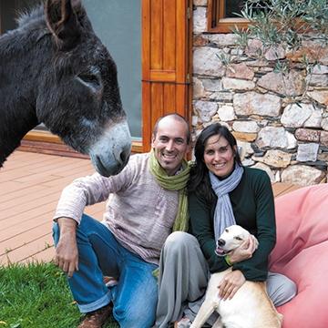 Sofia e Pedro Pedrosa