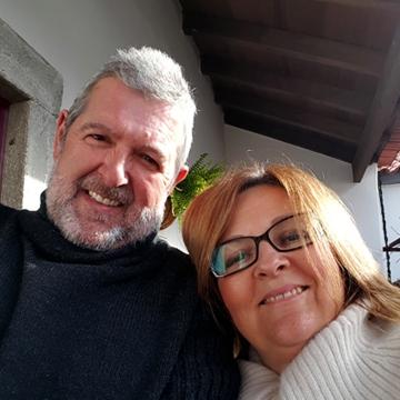 Maria João e Fernando Pereira
