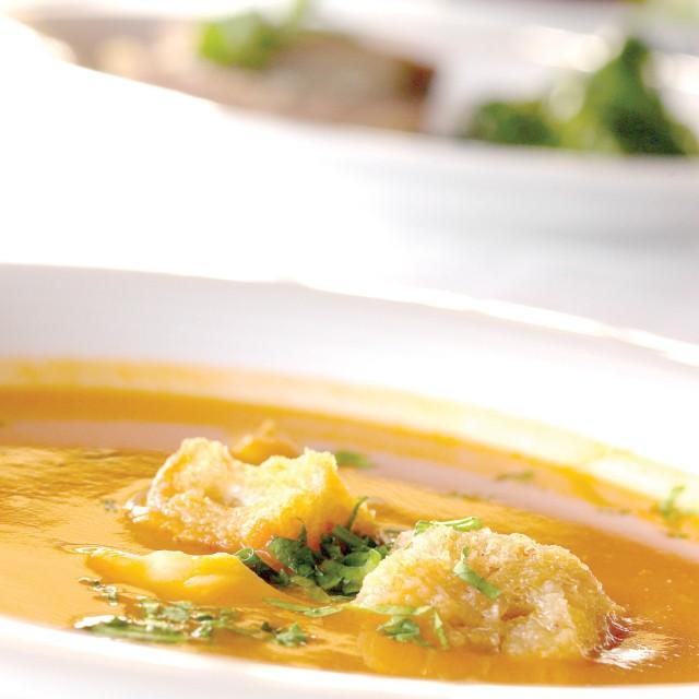 Sopa de peixe da Dona Helena