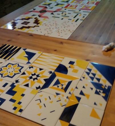Curso de Produção & Pintura sobre Azulejo